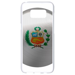 Peru Flag Country Symbol Nation Samsung Galaxy S8 White Seamless Case