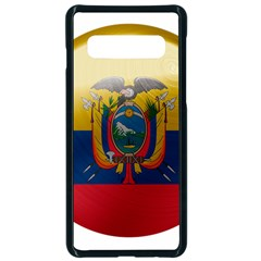 Ecuador Flag Ecuadorian Country Samsung Galaxy S10 Seamless Case(black)