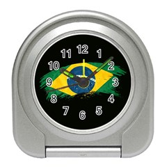 Flag Brazil Country Symbol Travel Alarm Clock