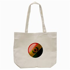 Bolivia Flag Country National Tote Bag (cream) by Sapixe