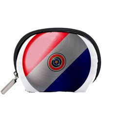 Paraguay Flag Country Nation Accessory Pouch (small)