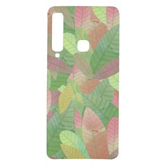 Watercolor Leaves Pattern Samsung Galaxy A9 Tpu Uv Case