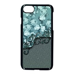 Wonderful Roses, A Touch Of Vintage Iphone 7 Seamless Case (black) by FantasyWorld7