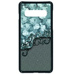 Wonderful Roses, A Touch Of Vintage Samsung Galaxy S10 Seamless Case(black)