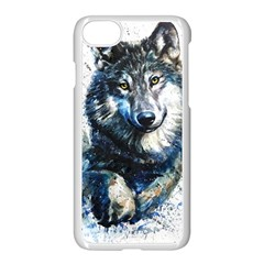 Gray Wolf - Forest King Iphone 8 Seamless Case (white) by kot737