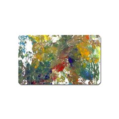 Original Abstract Art Magnet (name Card) by scharamo