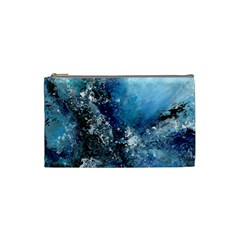 Original Abstract Art Cosmetic Bag (small) by scharamo