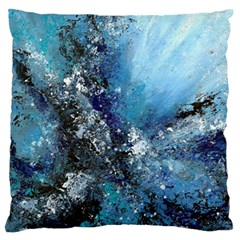 Original Abstract Art Standard Flano Cushion Case (two Sides) by scharamo