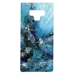 Original Abstract Art Samsung Galaxy Note 9 Tpu Uv Case by scharamo