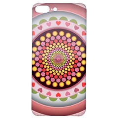 Mandala Zentangle Floral Round Iphone 7/8 Plus Soft Bumper Uv Case by Pakrebo