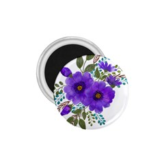 Watercolour Flowers Spring Floral 1 75  Magnets by Pakrebo
