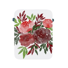 Watercolour Flowers Roses Watercolor Apple Ipad 2/3/4 Protective Soft Cases by Pakrebo