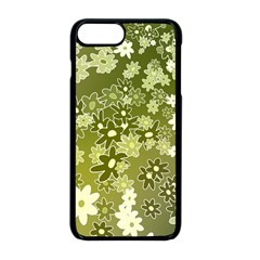 Flowers Abstract Background Iphone 8 Plus Seamless Case (black)