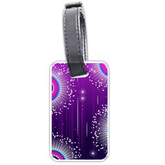 Non Seamless Pattern Background Luggage Tag (two Sides)