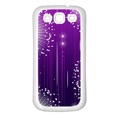 Non Seamless Pattern Background Samsung Galaxy S3 Back Case (white)