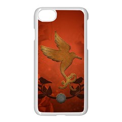 Elegant Decorative Bird Iphone 7 Seamless Case (white) by FantasyWorld7