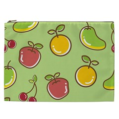 Seamless Healthy Fruit Cosmetic Bag (xxl) by HermanTelo