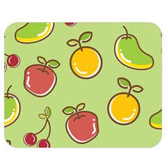 Seamless Healthy Fruit Double Sided Flano Blanket (medium)  by HermanTelo