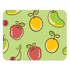 Seamless Healthy Fruit Double Sided Flano Blanket (large)