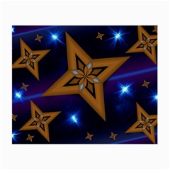 Star Background Small Glasses Cloth by HermanTelo