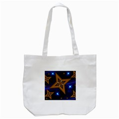 Star Background Tote Bag (white)