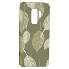 Leaf Grey Samsung Galaxy S9 Plus Tpu Uv Case by AnjaniArt