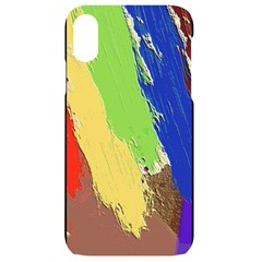 Abstract Painting Iphone Xr Black Uv Print Case