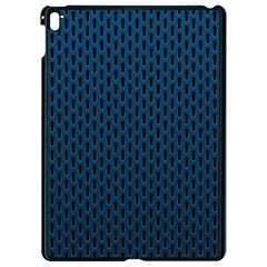 Background Holes Texture Apple Ipad Pro 9 7   Black Seamless Case by HermanTelo