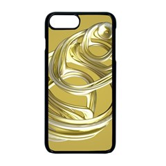 Fractal Abstract Artwork Iphone 8 Plus Seamless Case (black)