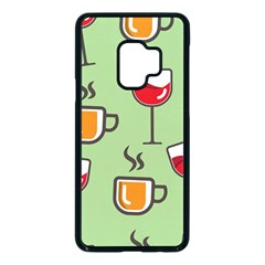 Cups And Mugs Samsung Galaxy S9 Seamless Case(black) by HermanTelo