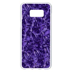 Pattern Color Ornament Samsung Galaxy S8 Plus White Seamless Case