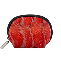 Food Fish Red Trout Salty Natural Accessory Pouch (small)