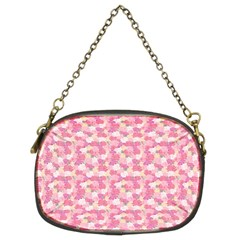 Peony Pattern Pink Scrapbooking Chain Purse (two Sides)