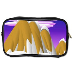 Europa Positive Thinking Mountain Toiletries Bag (two Sides) by Pakrebo