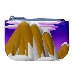 Europa Positive Thinking Mountain Large Coin Purse by Pakrebo