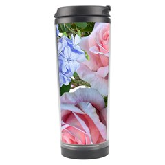 Roses Plumbago Flowers Fragrant Travel Tumbler