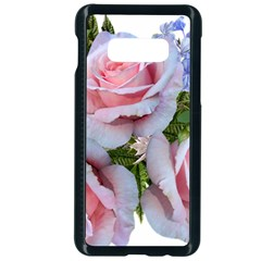 Roses Plumbago Flowers Fragrant Samsung Galaxy S10e Seamless Case (black)