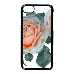 Roses Flowers Buds Ragrance Iphone 7 Seamless Case (black)