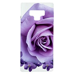 Roses Violets Flowers Arrangement Samsung Galaxy Note 9 Tpu Uv Case