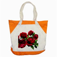 Roses Flowers Red Romantic Garden Accent Tote Bag