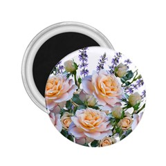 Roses Flowers Salvias Arrangement 2 25  Magnets