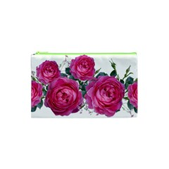 Roses Gypsophila Flowers Fragrant Cosmetic Bag (xs)