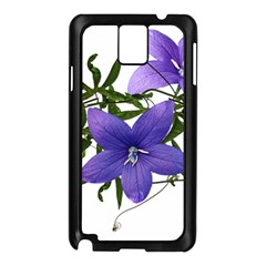 Flowers Blue Campanula Arrangement Samsung Galaxy Note 3 N9005 Case (black)