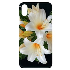 Lilies Belladonna White Flowers Iphone Xs Max