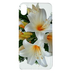 Lilies Belladonna White Flowers Apple Iphone Xr Tpu Uv Case