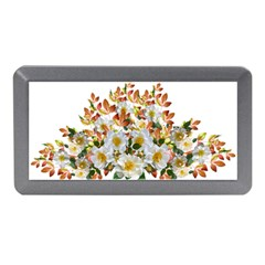 Flowers Roses Leaves Autumn Memory Card Reader (mini)
