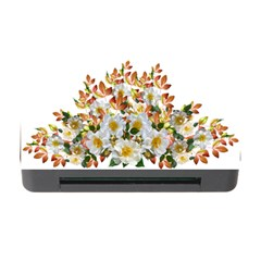 Flowers Roses Leaves Autumn Memory Card Reader With Cf
