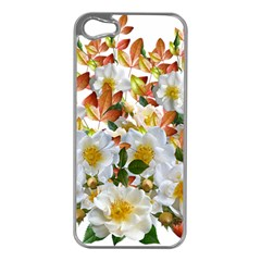 Flowers Roses Leaves Autumn Iphone 5 Case (silver)