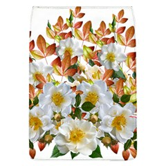 Flowers Roses Leaves Autumn Removable Flap Cover (l)