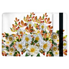 Flowers Roses Leaves Autumn Ipad Air Flip